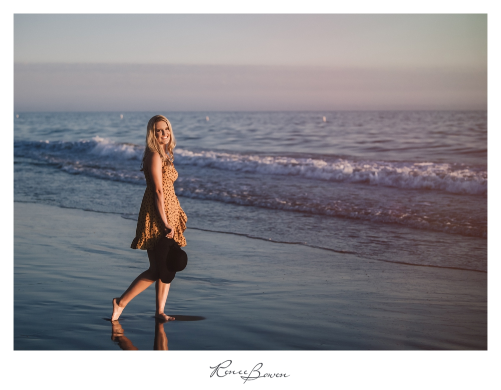 gen z podcast beach at sunset