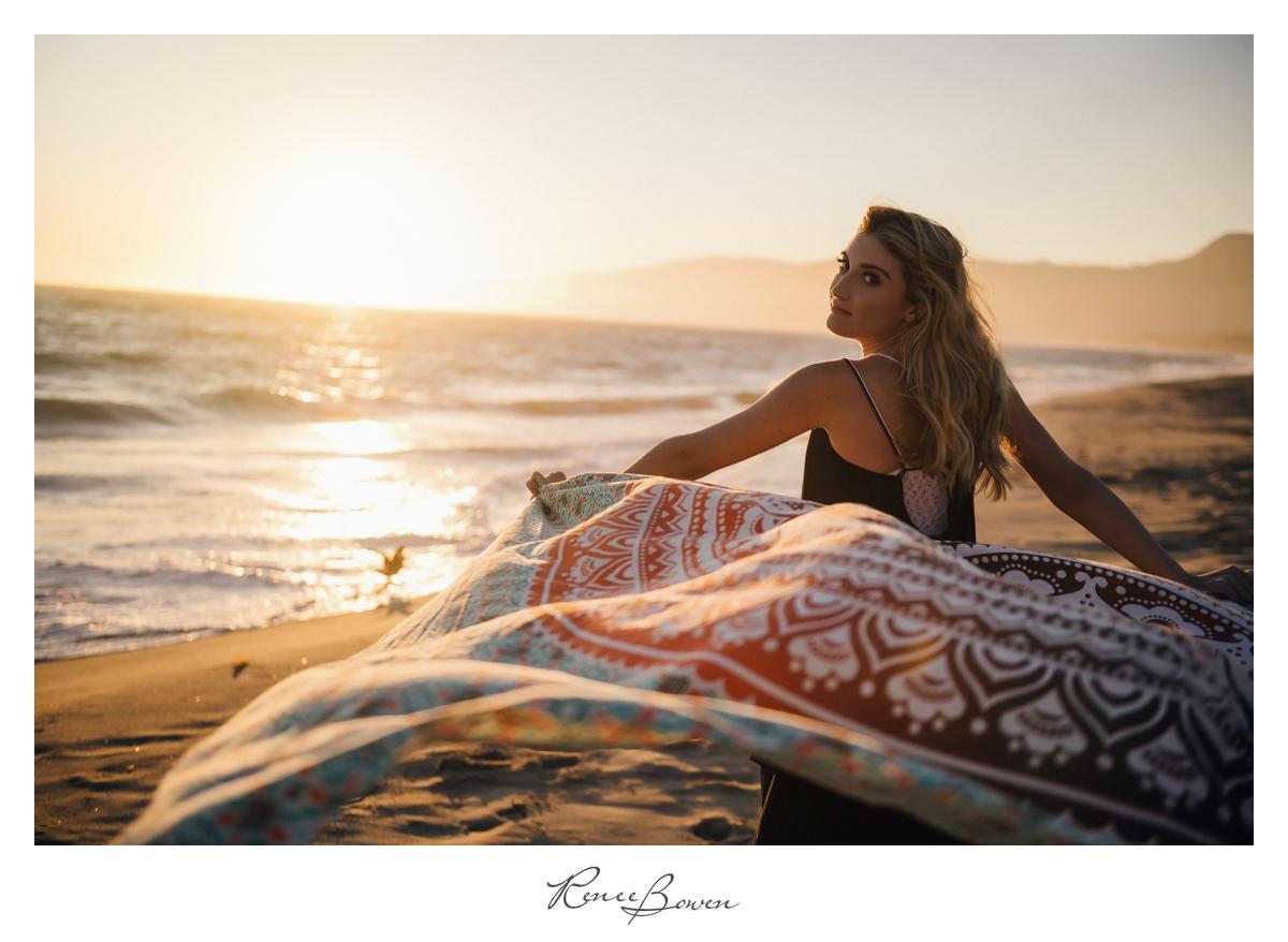 Malibu Beach photoshoot
