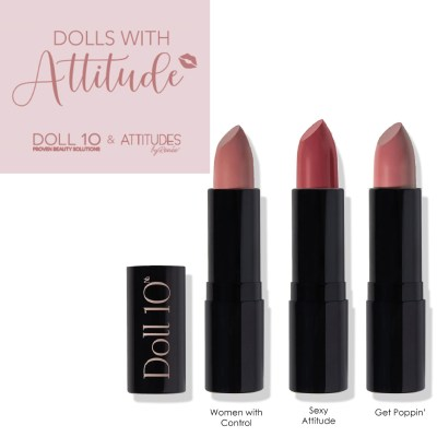 Dolls with Attitudes Lipstick Collab