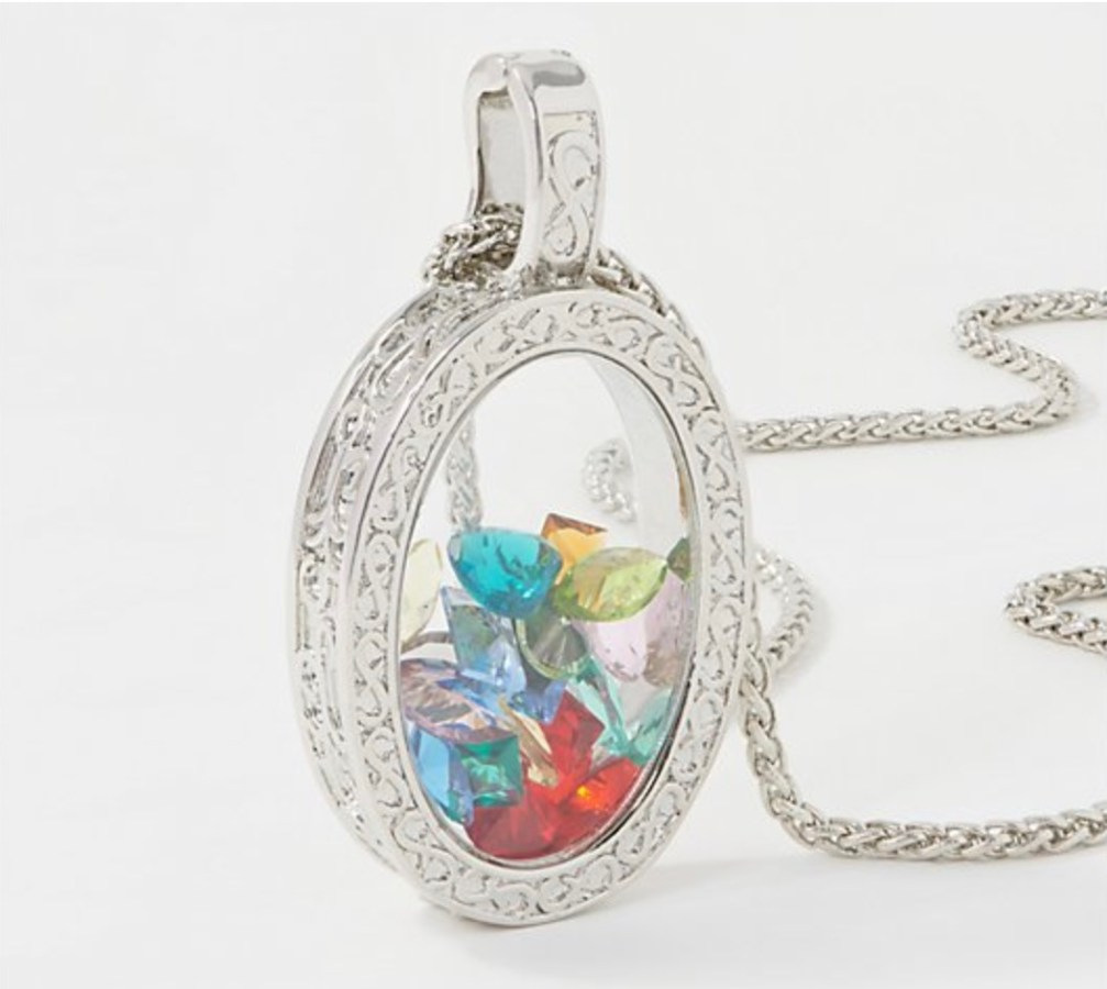 Life is Half Full Necklace (1)