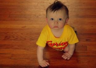 """The birthday boy, Oliver, aka, """"Ollie""""."""