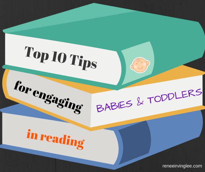 reading toddler baby