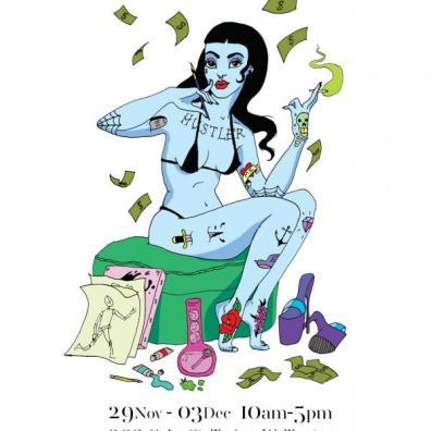 Art of Stripping exhibition
