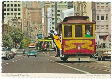 Skeli Man in San Francisco