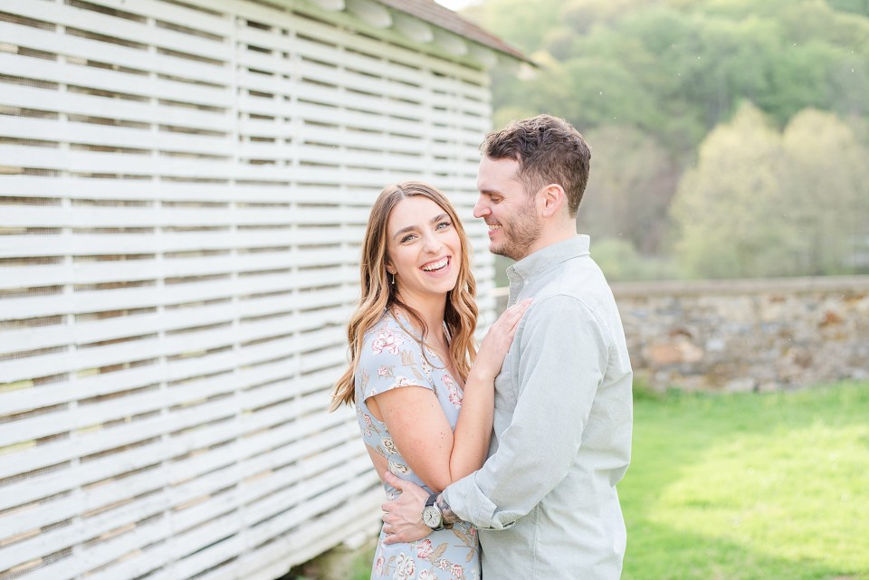 engagement session in Valley Forge with Renee Nicolo Photography