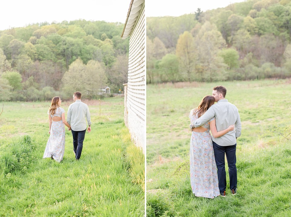 Renee Nicolo Photography photographs Valley Forge engagement session