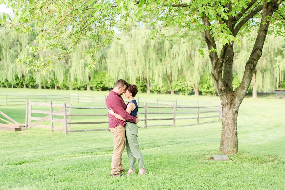 outdoor engagement portraits with Renee Nicolo Photography