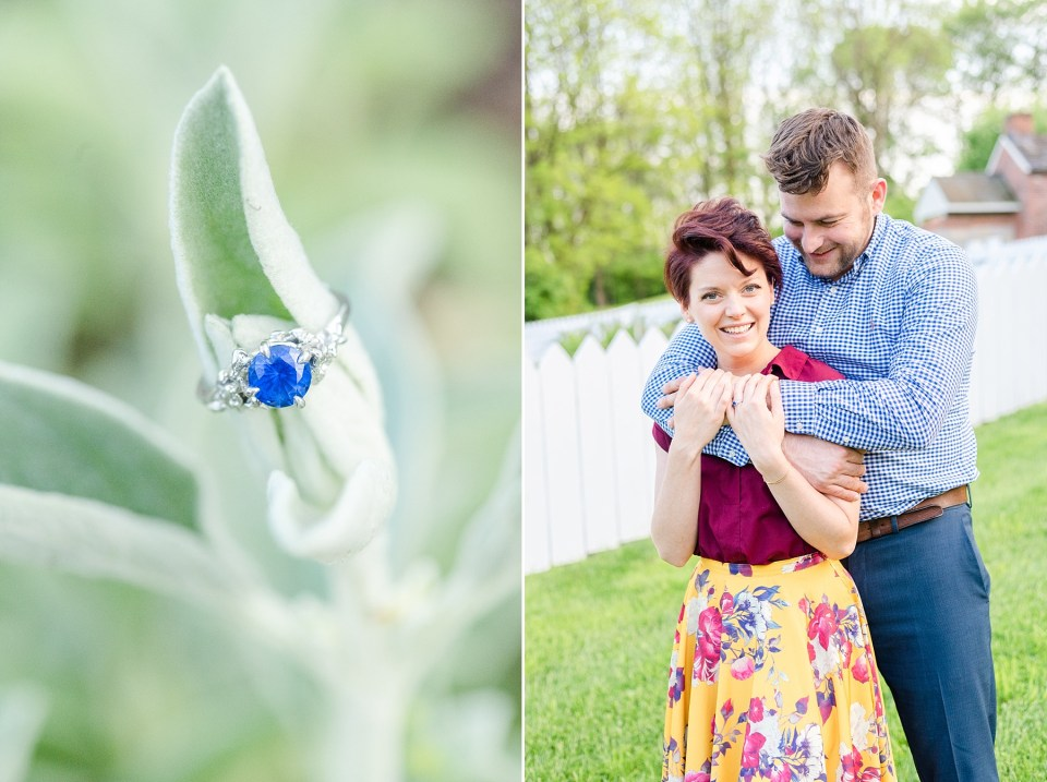 PA and destination wedding photographer Renee Nicolo Photography photographs engagement