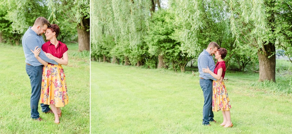 outdoor engagement portraits by Renee Nicolo Photography