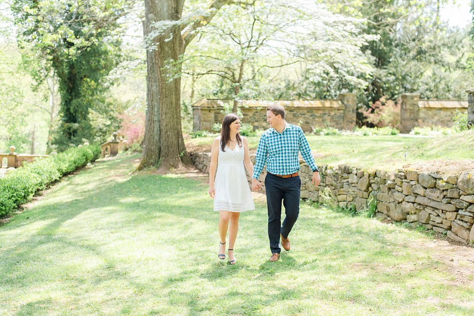 Ridley Creek engagement session with PA wedding photographer Renee Nicolo Photography