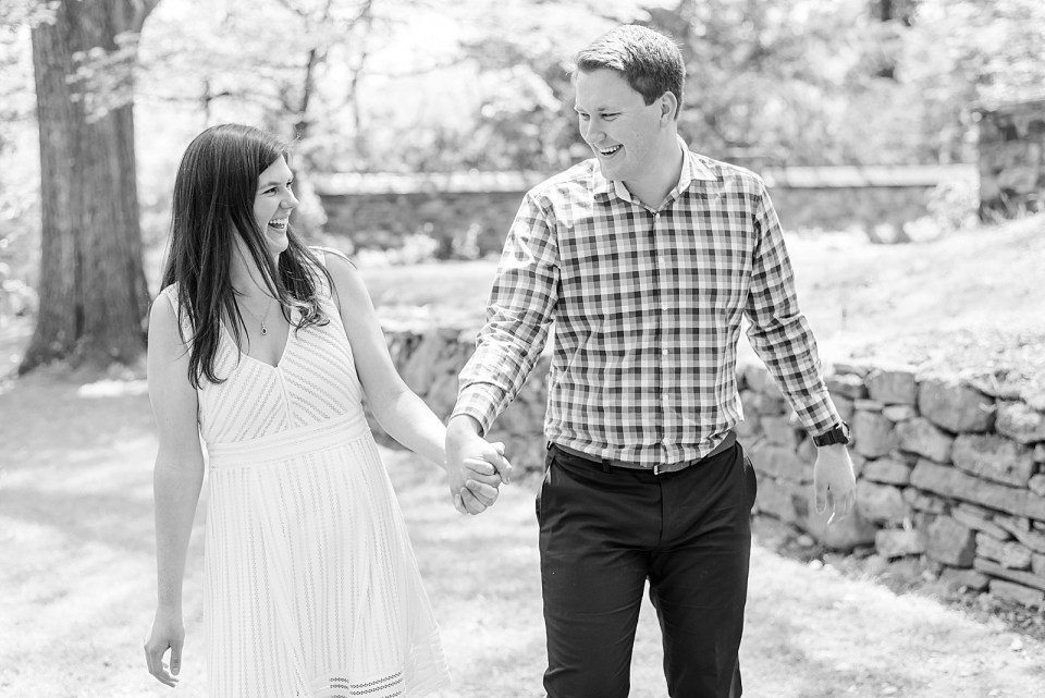 Renee Nicolo Photography captures engagement session at Ridley Creek