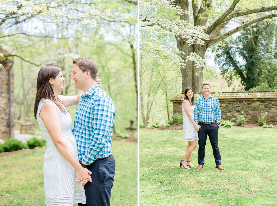 Ridley Creek engagement session with Renee Nicolo Photography