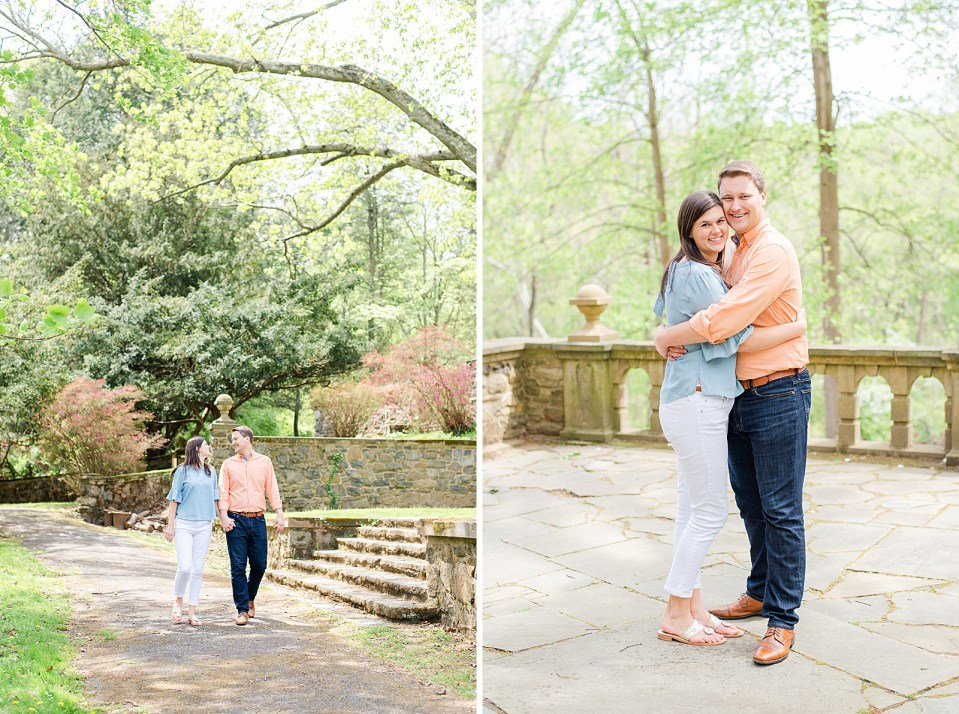 engagement portrait in Pennsylvania with Renee Nicolo Photography