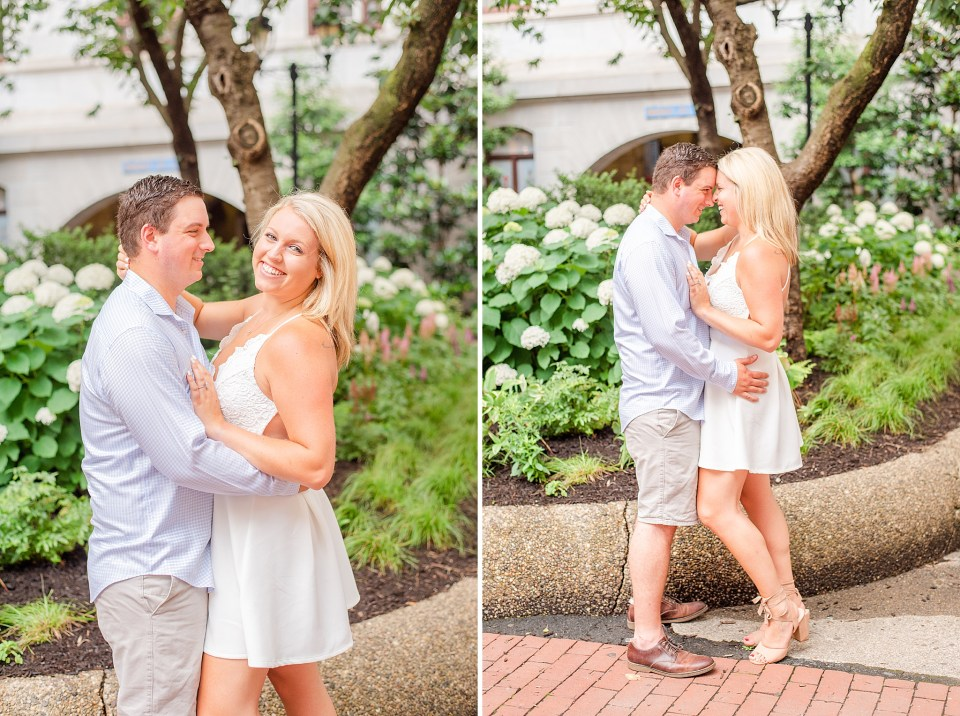 Philadelphia Center City engagement session with Renee Nicolo Photography