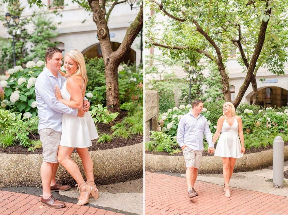 Philly engagement portraits with Renee Nicolo Photography