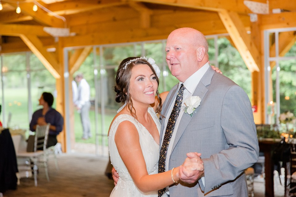 father daughter dance at Beaumont Inn photographed by wedding photographer Renee Nicolo Photography