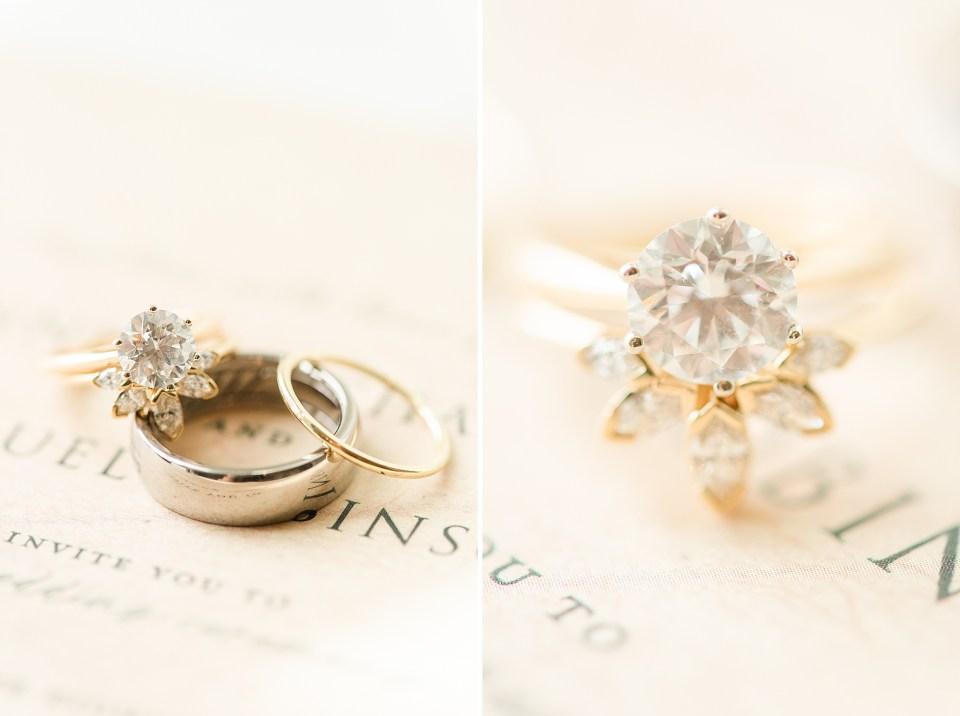 bride's jewelry photographed by PA wedding photographer Renee Nicolo Photography