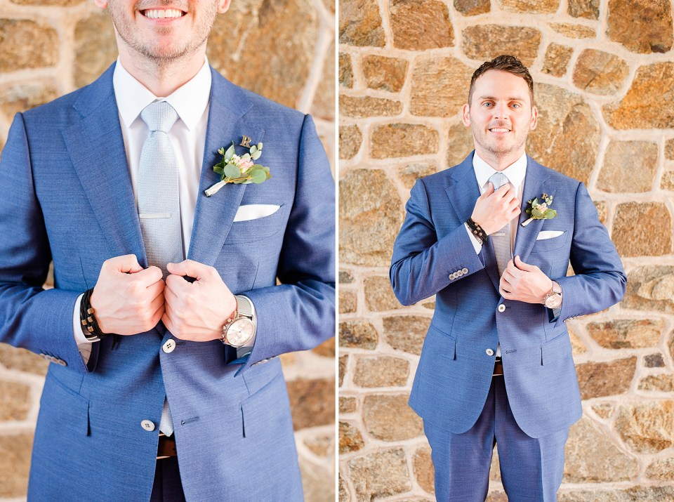 groom's details photographed by PA wedding photographer Renee Nicolo Photography