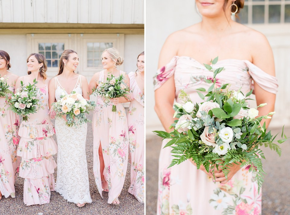 floral inspiration for spring wedding photographed by PA wedding photographer Renee Nicolo Photography