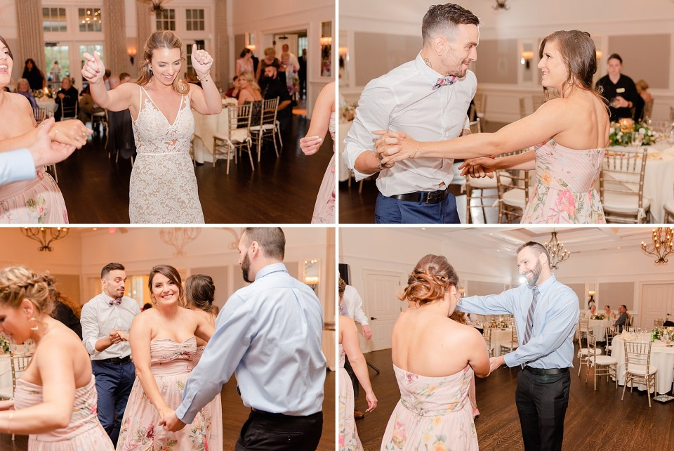 wedding dances at French Creek Golf Club wedding by Renee Nicolo Photography