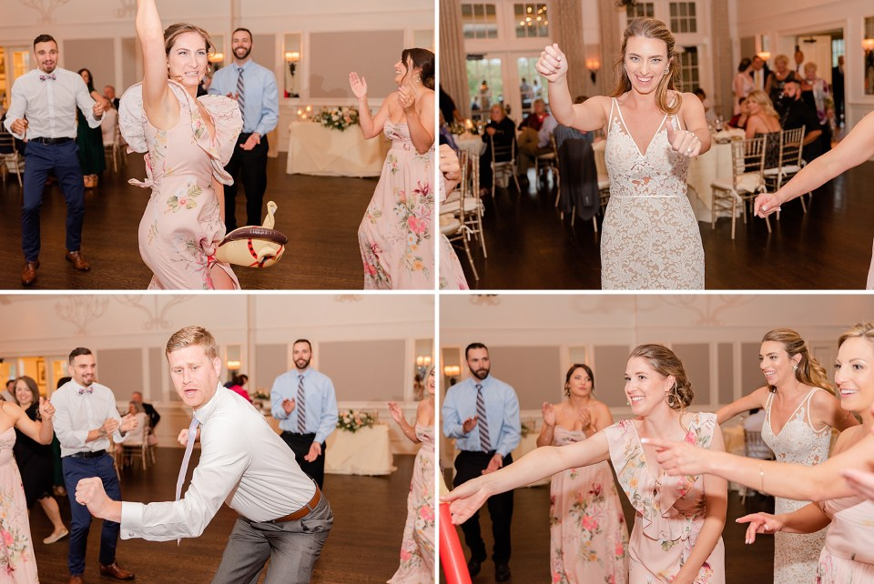 dancing at French Creek Golf Club wedding by Renee Nicolo Photography
