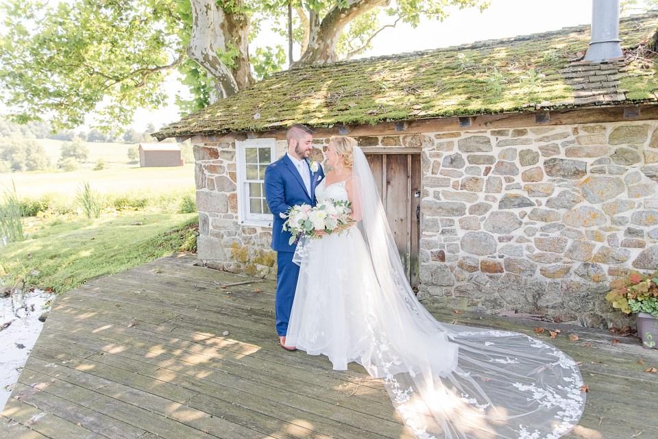 French Creek Golf Club wedding portraits by PA wedding photographer Renee Nicolo Photography