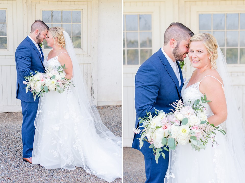 Renee Nicolo Photography photographs wedding day at French Creek Golf Club