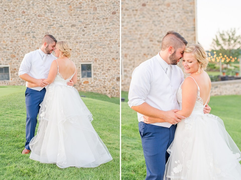wedding portraits at French Creek Golf Club with Renee Nicolo Photography
