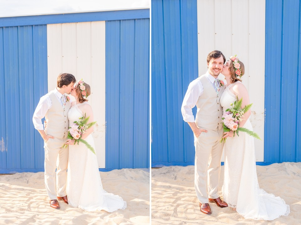 Rehoboth Beach wedding day photographed by Delaware photographer Renee Nicolo Photography