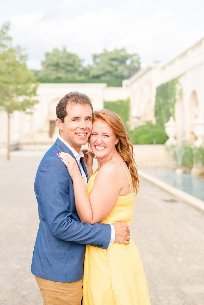 summer engagement session photographed by Renee Nicolo Photography