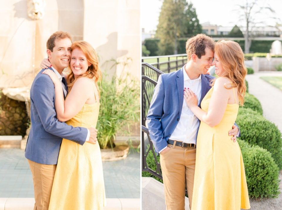 engagement session with Renee Nicolo Photography in Longwood Gardens