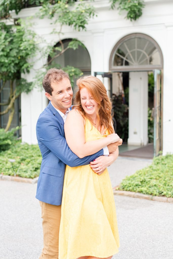 Renee Nicolo Photography captures joyful couple during engagement session