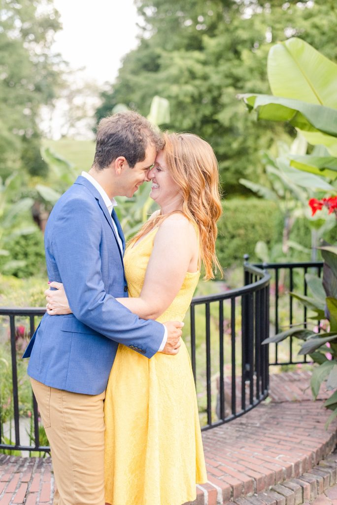 engagement portraits by Renee Nicolo Photography in Longwood Gardens