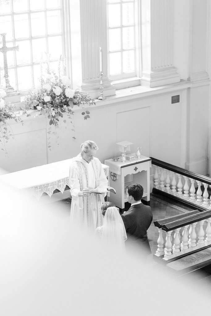 wedding day in Christ Church by Renee Nicolo Photography