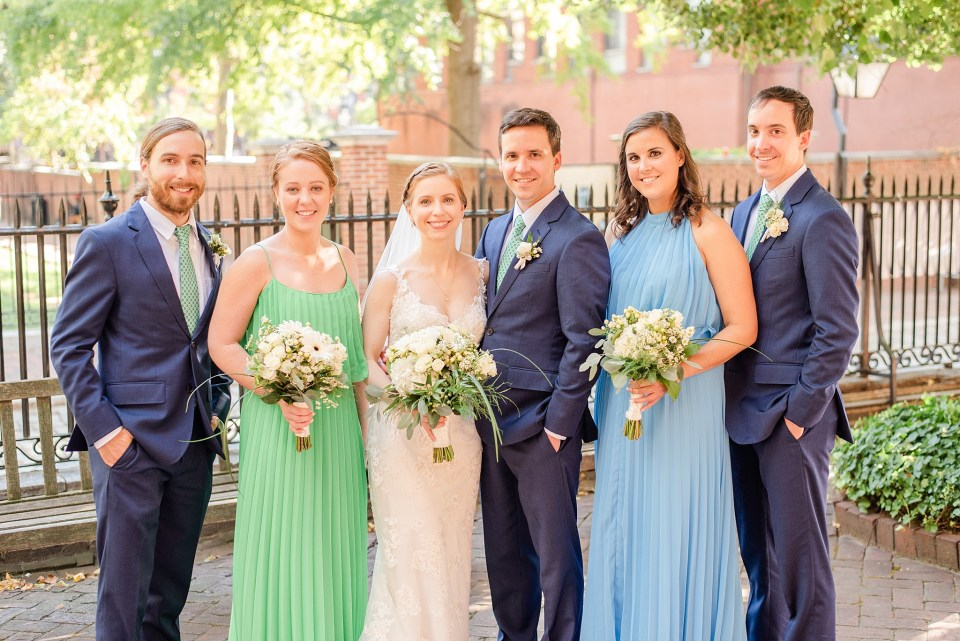 bridal party in Philadelphia photographed by Renee Nicolo Photography