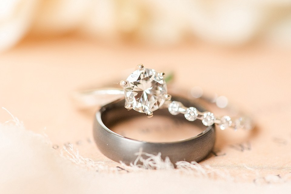 Renee Nicolo Photography photographs wedding bands for PA wedding