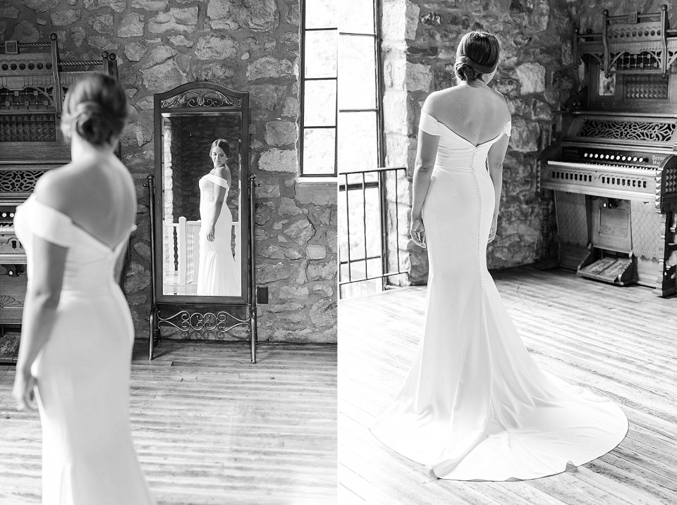 classic bridal portraits for HollyHedge Estate wedding with Renee Nicolo Photography