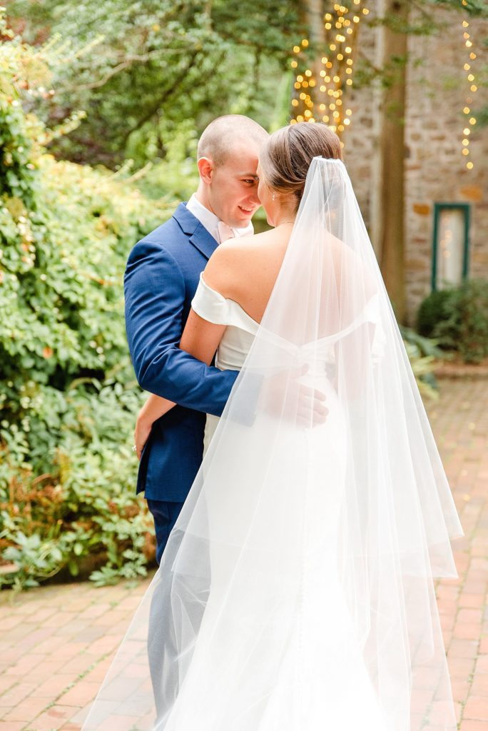 wedding portraits with PA wedding photographer Renee Nicolo Photography