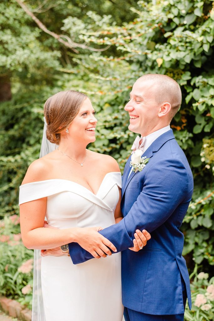 happy newlywed portraits with Renee Nicolo Photography