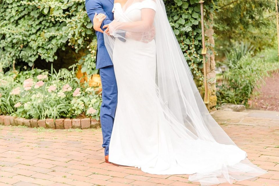 Renee Nicolo Photography photographs bride and groom on wedding day in PA