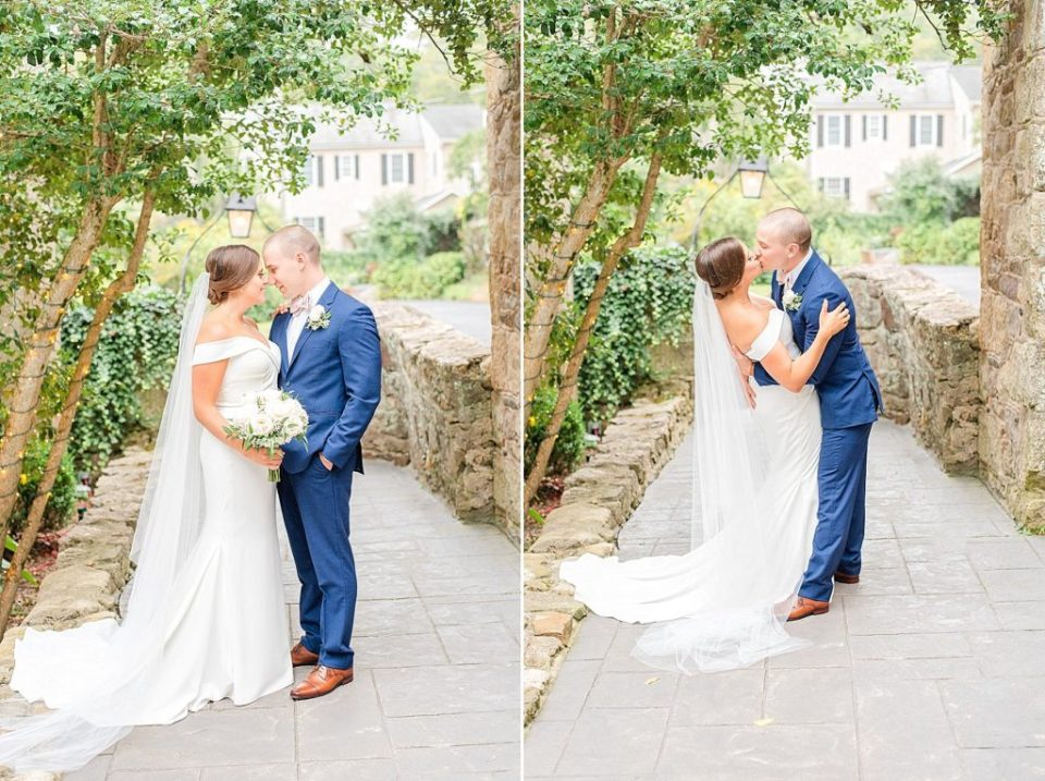 wedding portraits by Renee Nicolo Photography at HollyHedge Estate