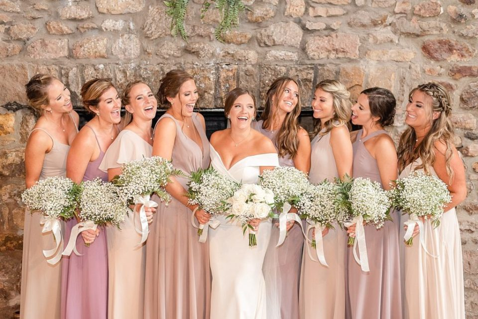 summer bridesmaid portraits with Renee Nicolo Photography