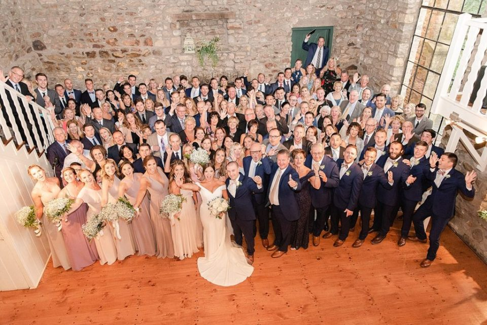 wedding guests photographed by Renee Nicolo Photography in New Hope PA