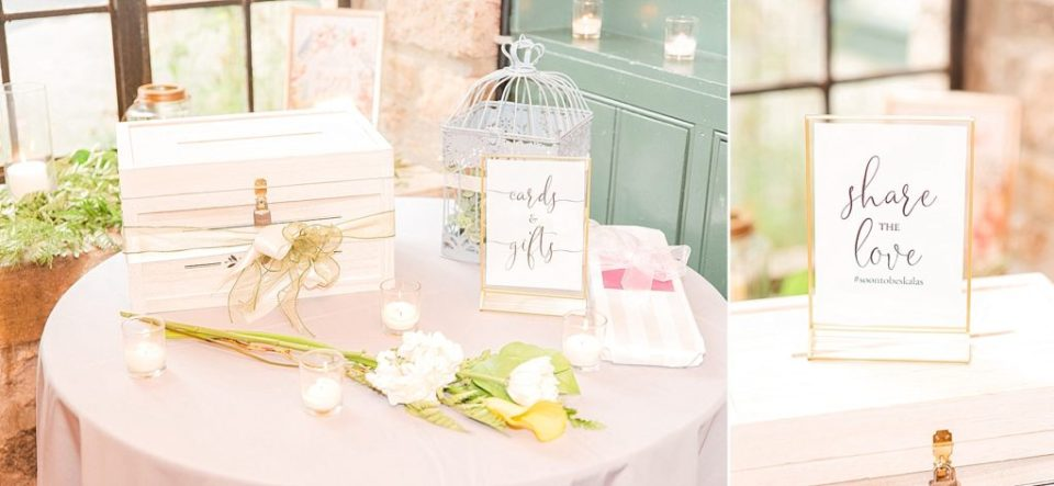 classic wedding reception decor photographed by Renee Nicolo Photography
