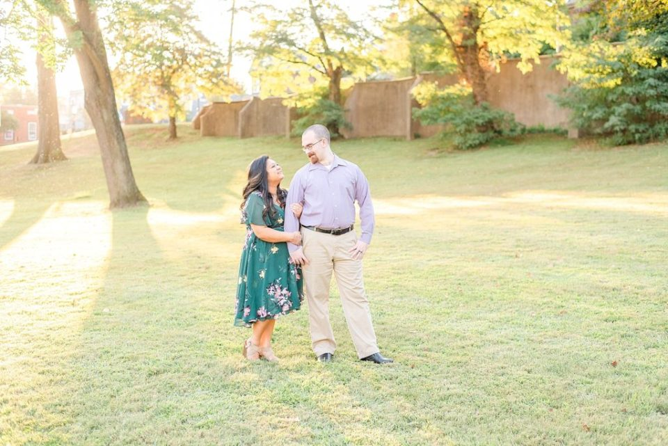 Doylestown PA anniversary photo session with Renee Nicolo Photography