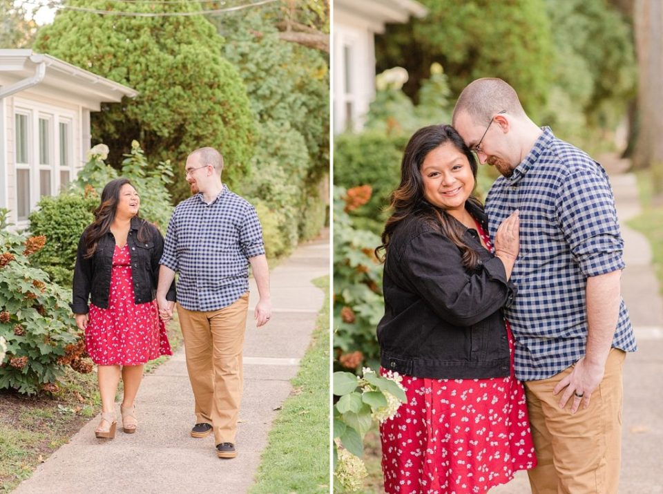 Renee Nicolo Photography photographs anniversary session in Doylestown PA
