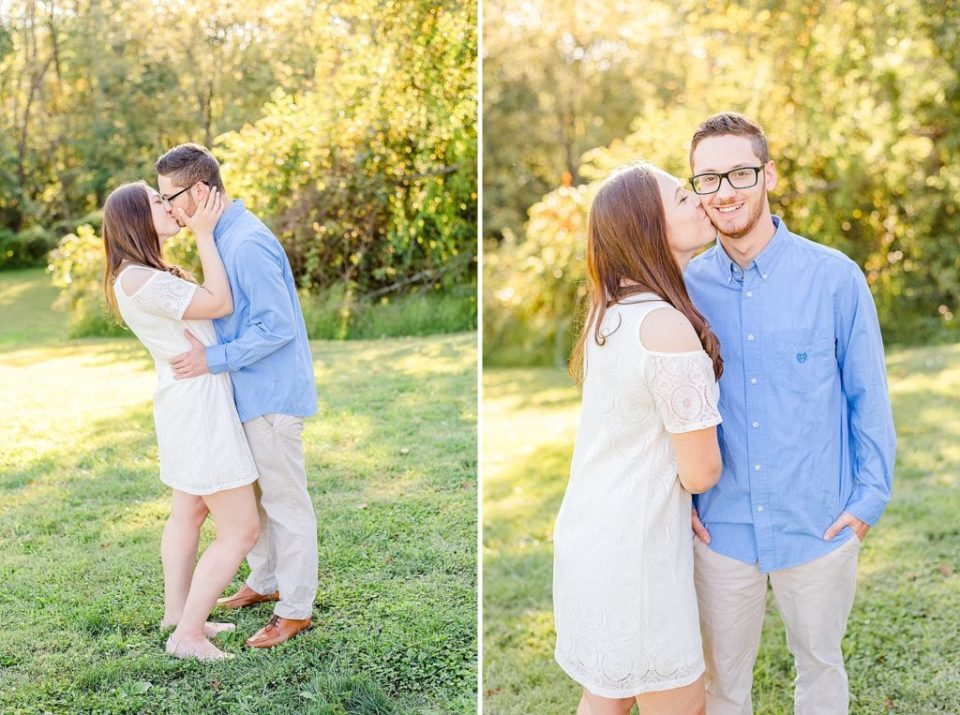 engagement portraits at Stonebrook Farm with Renee Nicolo Photography