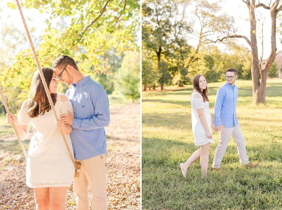 Renee Nicolo Photography photographs farm engagement session