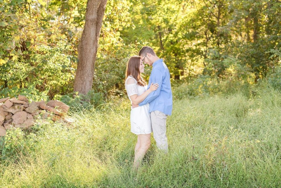 engagement portraits at Historic Stonebrook Farm with Renee Nicolo Photography