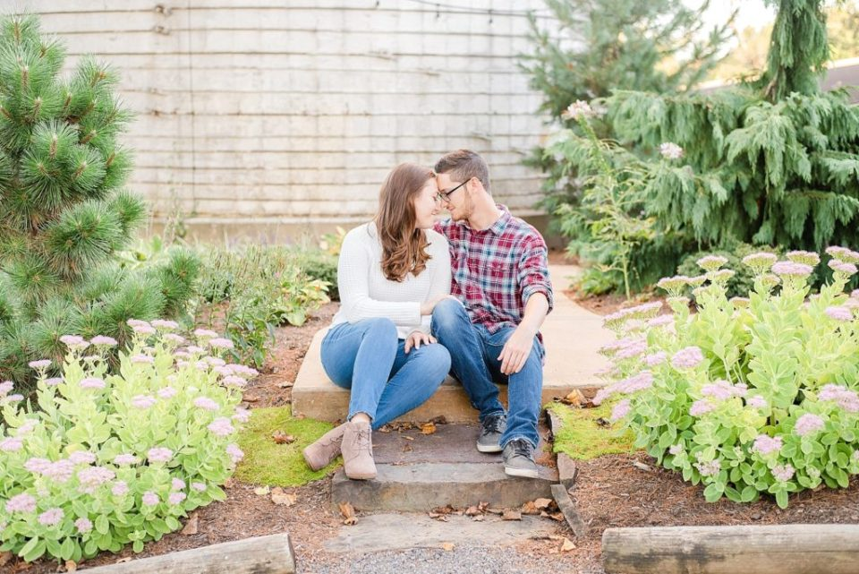 Renee Nicolo Photography photographs casual engagement session at Stonebrook farm